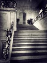 Perspective de l'escalier menant à la salle des Etats