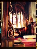 Choeur de l'église St Michel de Dijon