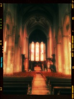 La nef central de St Michel et filtre blis et couleur