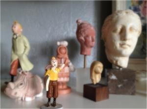 Tintin se demande dans quelque galerie de musée il se trouve?