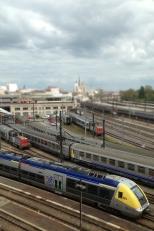 Trains et St Bénigne Gare Dijon