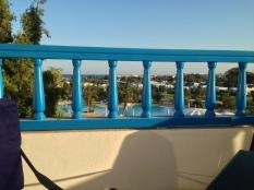 Une vue depuis ma terrasse.