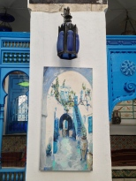 Une des aquarelles de la collection du musée qui regroupe les oeuvres d'artistes locaux et internationaux