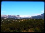 Ce matin la montagne est sous la neige