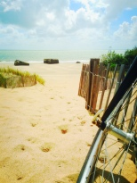 Arrivée sur la Grande plage